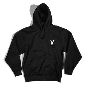Playboy bunny Heavyweight pullover hoodie Black